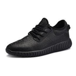 89ed41dd3 Дышащая пара Обувь для спорта и отдыха летом Кокосовая обувь Корейская  версия Baitao Кожаные панельные туфли для мужчин