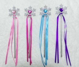 $enCountryForm.capitalKeyWord Australia - DHL Fairy Wand Ribbons Streamers Christmas Wedding Party Snowflake Gem Sticks Magic Wands Party Props Decoration Events Favors for girl