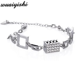 $enCountryForm.capitalKeyWord Australia - Bracelet 2019 latest fashion ladies silver bracelet and trend fashion charm series popular jewelry retro adjustable