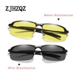 $enCountryForm.capitalKeyWord Canada - Aluminum Magnesium Photochromic Sunglasses Polarized Night Vision Anti-Glare Glasses Men Driver Yellow Gray Change Driving Glass