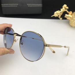 $enCountryForm.capitalKeyWord Australia - 2019 new UV 400 Protection metal fashion Wrap frame round glasses Fashion high quality sunglasses men women sunglasses with box