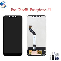 Vente en gros Ecran LCD Pour Xiaomi Pocophone F1 Ecran Tactile Ecran LCD Numériser Pour POCO F1