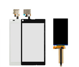 sony xperia l NZ - LCD with Touchscreen for Sony C2104 S36 Xperia L, C2105 S36h Xperia L LCD display screen Digitizer Glass Panel Front