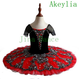tutus women NZ - Spanish Pancake Tutu with sleeve girls Classical Don Quixote Ballet Tutu Costume Ballerina Professional Ballet Tutus child or women