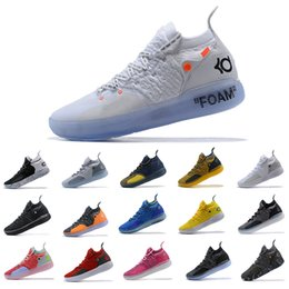 c01c3c171db9 2018 New KD 11 EP White Orange Foam Pink Paranoid Oreo ICE Basketball Shoes  Original Kevin Durant XI KD11 Mens Trainers Sneakers Size 40-46