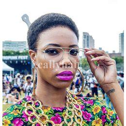 Free Women Human Hair Afro Australia - Brazilian virgin Hair Celebrity Afro kinky curl Glueless Cap natural Indian Remy human hair Wigs For Black Women Bob Style wig Free shipping