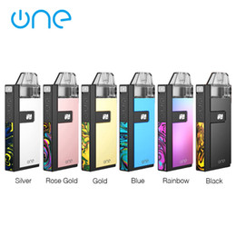 Wholesale gold ratios for sale - Group buy Onevape Golden Ratio Pod Starter Kit mAh with ml refillable cartridge replaceable leakproof pod Mesh MTL Coil e cigs