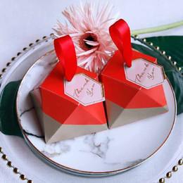 $enCountryForm.capitalKeyWord NZ - 50pcs European-style rose red wedding diamond wedding wedding candy box full moon wine candy box Party Supplies new Favor Boxes