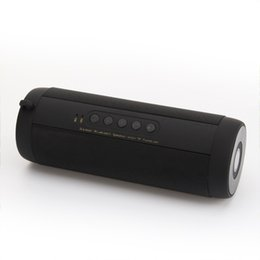 Speaker boxeS deSign online shopping - Best Wireless Bluetooth Speaker Waterproof Portable Outdoor Mini Bicycle Speaker Column Box Loudspeaker Design for iPhone Xiao