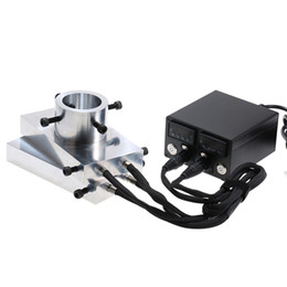 "$enCountryForm.capitalKeyWord Australia - Heat Rosin Press Kit 4*7"" Plates Double PID Controller Enail Heating Aluminium Plate Electric Temperature Controller (UK Plug)"