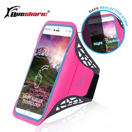 Cell Phone Armband Jogging Australia - Men Women 5.6 inch Running Armband Phone Bag Touch Screen Cell Phone Sports Bag Gym Fitness Jogging Run Arm Accessories #944691