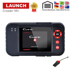 launch creader diagnostic obd2 code reader Australia - Launch X431 Creader VII Plus VII+ Auto Code Reader OBD2 OBD 2 Scanner OBDII Diagnostic Tool Automotive Scan Tool same as CRP123