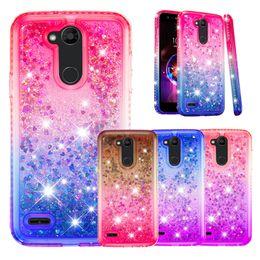 $enCountryForm.capitalKeyWord NZ - Gradient Liquid Quicksand Phone Case For LG K40 K12 Plus k8 LV7 LV3 Case Cover for LG Stylo 5 Stylus 4 G7 V40 ThinQ Aristo 2 Rhinestone Case