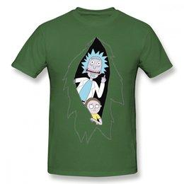 popular t shirt designs 2019 - mens designer clothes brand polo Fashion Rick And Morty Cartoon T Shirt Man Popular Design Tee Shirt Round Neck Plus Siz