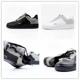 Good Football Shoes NZ - 2019 New Arrival Designer A-Cold-Wall x 1'07 low ACW Black White Sports Running Shoes Good Quality Mens Trainers Sneakers size 40-45