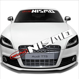 $enCountryForm.capitalKeyWord NZ - Auto Car Front Rear Windshield Exterior Banner Window Vinyl Emblem Decal Reflective Sticker For Nissan NISMO