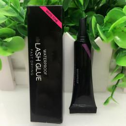 $enCountryForm.capitalKeyWord Australia - Top Quality Beauty EyeLash Glue Waterproof Fake Eyelash Adhesives White Black Colors Fast Drying False Eyelash Makeup Tools