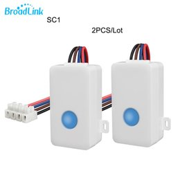 2.4ghz module online shopping - 2PCS Broadlink SC1 Home Automation Modules Smart Switch WiFi APP GHz Control Box Timing Wireless Remote Control W