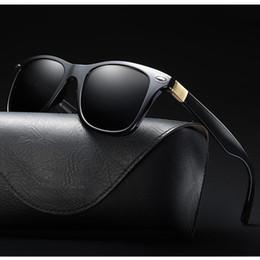 Venta al por mayor de Vintage gafas de sol polarizadas antideslumbrante gafas de conducción gafas de sol de vacaciones accesorios de moda para hombres mujeres joyería unisex 5 colores