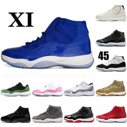 $enCountryForm.capitalKeyWord NZ - Blue Mens Womens 11 11s Grey Suede olive lux Brand XI Concord High Basketball Shoes Athletic Sport Fashion Sports Sneakers Designer Trainers