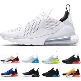hot m max shoe Australia - NEW 270 Men Women Running Shoes Trainers Male Sports max Athletic 27c Hot Corss Hiking Jogging Walking air Outdoor Sneakers