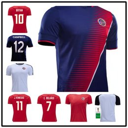 AAA++Costa Rica jerseys 2018 19 world cup M.UREÑA Costa Rica soccer jersey  home away G.gonzález CAMPBELL WALLACE K.WASTON football shirt costa rica  jersey ... dbf4e197e