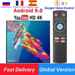 play store box 2019 - A95X R3 RK3318 Smart TV Box Android 9.0 4K Set top box 4GB 64GB 32GB 3D USB3.0 Dual Wifi Google Play Store Netflix Youtu