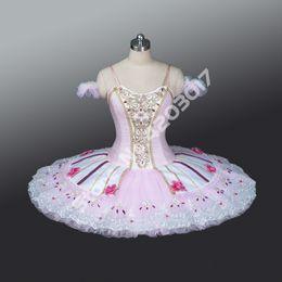 $enCountryForm.capitalKeyWord Australia - Adult Child Pink Professional Ballet Tutus Performance Stage Pancake Tutu Girls Ballet Dancewear Ballerina Dress Women B1220