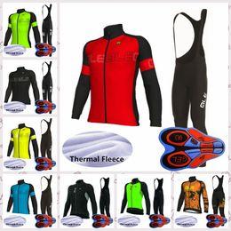 $enCountryForm.capitalKeyWord Australia - ALE team New Cycling long Sleeves Polyester Clothes bib pants sets mens bike jersey Outdoor Winter Thermal Fleece sportswear Q82125