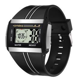$enCountryForm.capitalKeyWord Australia - Great Men Rectangle Luminous Backlight Sports Stopwatch Date Alarm Digital Wrist Watch