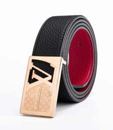 $enCountryForm.capitalKeyWord NZ - 2019 Men's and Women's Wear Brand Super Alloy Smooth Button Leather Belt Fashion Classic Belt Order Free Delivery