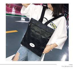 $enCountryForm.capitalKeyWord Australia - Art2019 Section Vertical Square Both Shoulders Woman Leisure Time Business Affairs Backpack Diamond Lattice Package Student A Bag