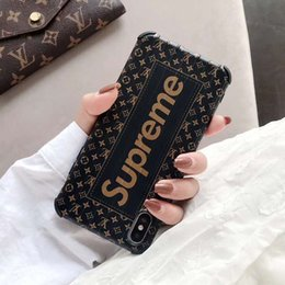 Hot Sales Iphone Case NZ - 19SS Luxury Phone Case for Iphone 6 6s,6p 6sp,7 8 7p 8p X XS,XR,XSMax New Arrival Fashion Designer Case for IPhone Hot Sale Wholesale