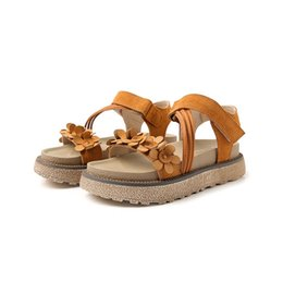 college wind shoes Australia - Summer New Roman Sandals Matte Muffin Platform Shoes Rome College Wind Wild Magic Flat Sandals Women jooyoo