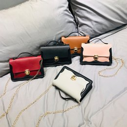 South korea lace online shopping - 1Hit Color Wave Lace Packet South Korea Lock Small Square Package Single Shoulder Messenger Woman Package Tide