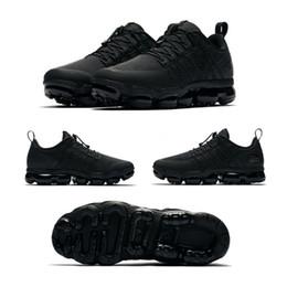 Discount white man sneakers - Run Utility 2019 Mens Running Shoes Black White Anthracite Triple Medium Olive Burgundy Crush Men Women Sports Sneakers