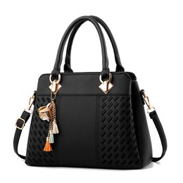 Wholesale Women Handbags Hardware Ornaments Solid Totes Handbag High Quality Lady Party Purse Casual Crossbody Messenger Shoulder