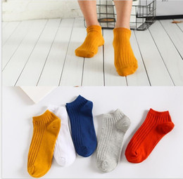 Cotton Body Slimmer Australia - Summer shallow sports boat socks shallow slim vertical men's socks pure cotton socks