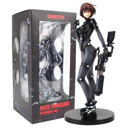 Figures Australia - 24cm Yamasaki X Sword Ver. Sexy Battle Suit Union Creative Comic Anime Film Gantz O Figure Figurine Toys Y190604