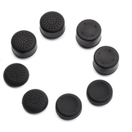 xbox thumb Canada - Extra High Silicone Thumb Grips Thumbstick Raised Cap Cover for PS4 PS3 Dualshock 4 Switch PRO Xbox 360 Controller Gamepad 8 pcs  lot