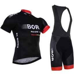 China BOR 2019 Cycling Sets MTB Shirts Breathable Bike Clothing Kits Quick Dry Sport Tops Cycling Jerseys Ropa Ciclismo supplier sport bike kits suppliers