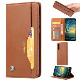 Wholesale Retro Vintage PU Leather Card Slots Case For Xiaomi Mi Mi Lite Mi6X Mix2S Redmi Note Note Pro Redmi6 A