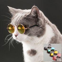 $enCountryForm.capitalKeyWord Australia - Pet Cat Glasses Dog Glasses Pet Products for Little Dog Cat Eye Wear Dog Sunglasses Photos Props Accessories Pet Supplies Toy