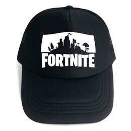 14 Design Fortnite 3D Print Baseball Hat Fortnight Hip Hop Snapback Summer  Trucker Caps for Men Women Outdoor Sun Mesh Hats Game Fans Gift fa942022cc9e