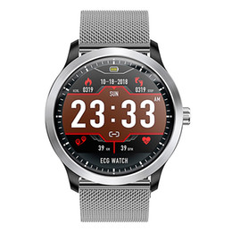 Andriod Smart Watches Australia - hot selling N58 smart watch within ECG PPG blood pressure and water proof and magnetic charging function for ios and andriod