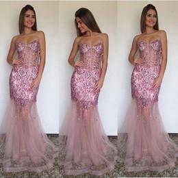 $enCountryForm.capitalKeyWord Australia - Sheath Sweetheart Evening Dress 2016 Sweetheart Beaded Sequins Formal Evening Gowns Prom Evening Dress Custom Made
