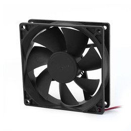 pc cooling fan 12v dc UK - Professional 90mm x 25mm 9025 2pin 12V DC Brushless PC Case CPU Cooler Cooling Fan