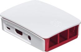 Опт Официальный Raspberry Pi 3 Case - красный / белый