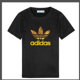 Raglan style shiRts online shopping - 2020 New Summer Children Short sleeves T shirt Boys Tops Brands Solid Color Tees Kids t Shirt Girls Classic Clothing