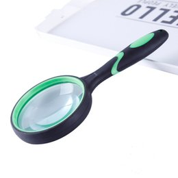 $enCountryForm.capitalKeyWord Australia - Magnifying Glass Kids with 3X 100MM Large Magnifying Lens and Non-Slip Soft Handle for Close Work,Reading